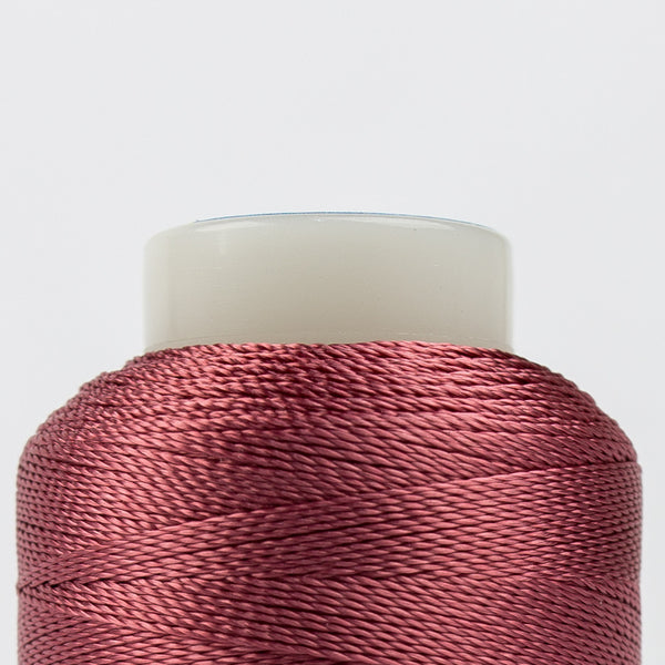 AC1108 - Accent 12wt Rayon Dark Rose Thread - wonderfil-online-uk