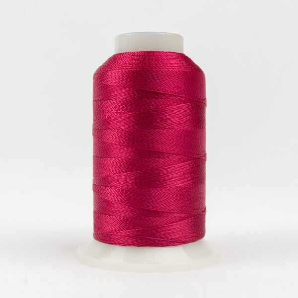 AC1168 - Accent 12wt Rayon Dark Crimson Thread - wonderfil-online-uk