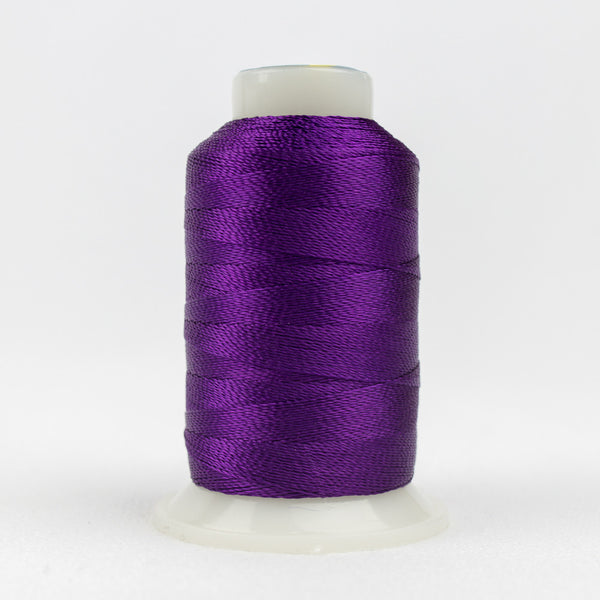 AC124 - Accent 12wt Rayon Purple Thread - wonderfil-online-uk