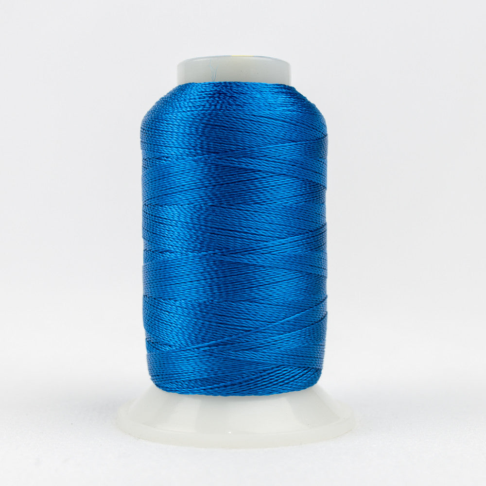 AC148 - Accent 12wt Rayon Mediterranean Blue Thread - wonderfil-online-uk