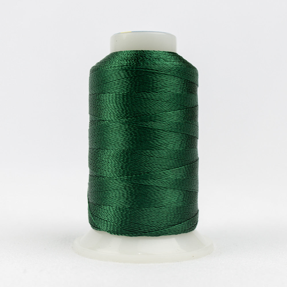 AC4158 - Accent 12wt Rayon Deep Green Thread - wonderfil-online-uk
