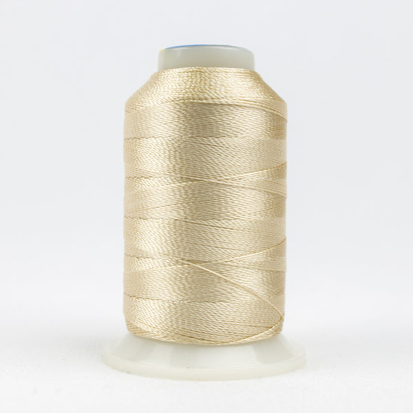 AC7102 - Accent 12wt Rayon Ecru Thread - wonderfil-online-uk