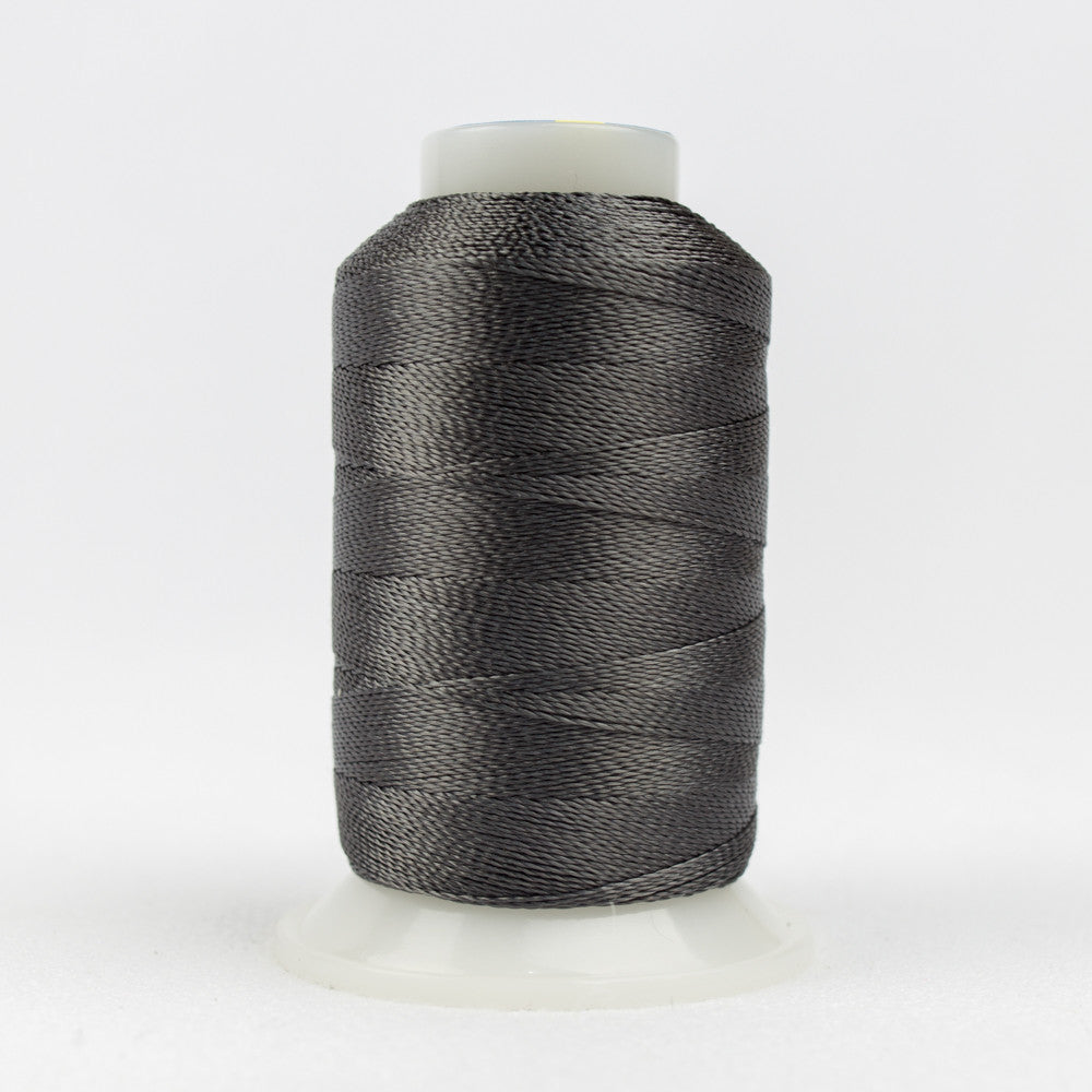 AC7132 - Accent 12wt Rayon Grey Suede Thread - wonderfil-online-uk