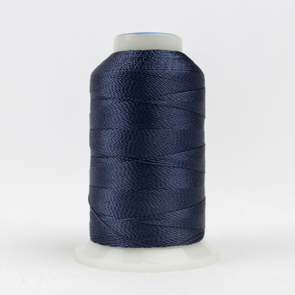 AC7136 - Accent 12wt Rayon Blue Velvet Thread - wonderfil-online-uk