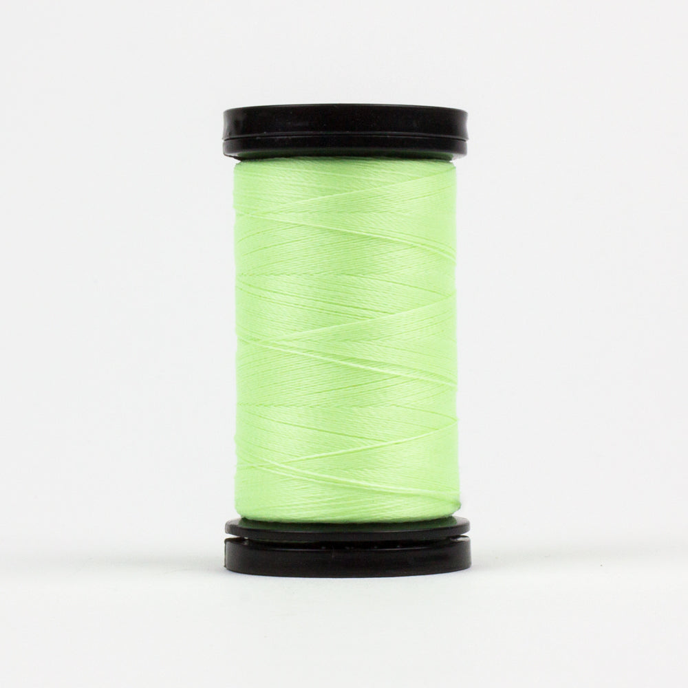 AR04 - Ahrora 40wt Glow in the Dark Polyester Lemon Lime Thread - wonderfil-online-uk