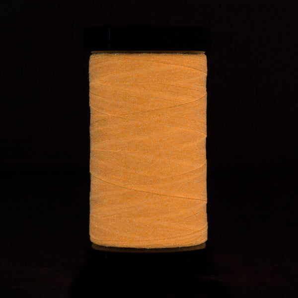 AR05 - Ahrora 40wt Glow in the Dark Polyester Saffron Thread - wonderfil-online-uk