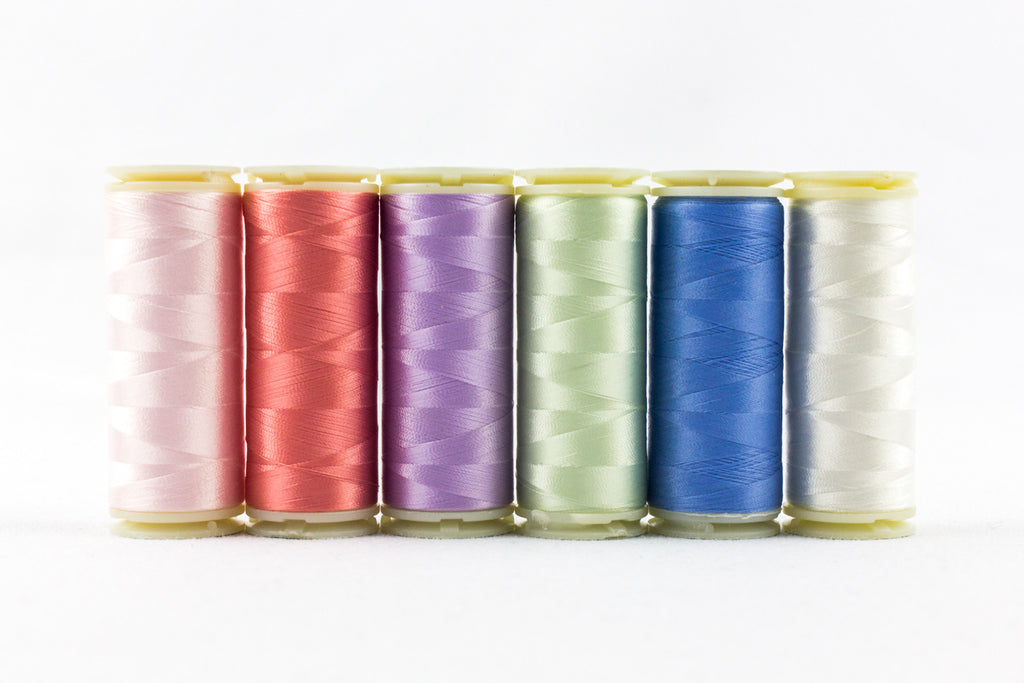 InvisaFil 100wt Cotton Polyester Thread Box Set - wonderfil-online-uk