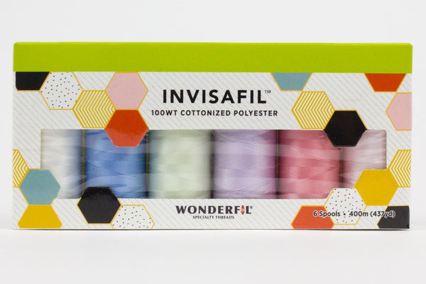 InvisaFil 100wt Cotton Polyester Thread Box Set