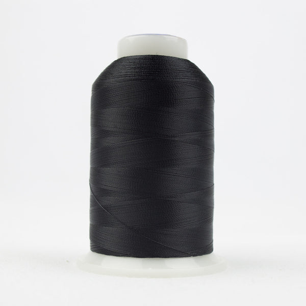 DB101 - DecoBob All Purpose Cotton Polyester Black Thread - wonderfil-online-uk