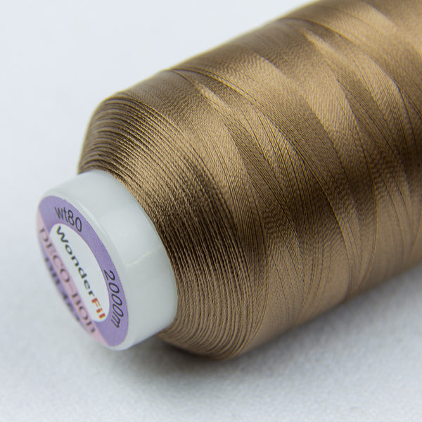 DB463 - DecoBob All Purpose Cotton Polyester Dark Tan Thread - wonderfil-online-uk