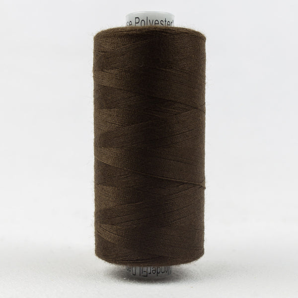 DS106 - Designer 40wt All purpose  Polyester Baker's Chocolate Thread - wonderfil-online-uk
