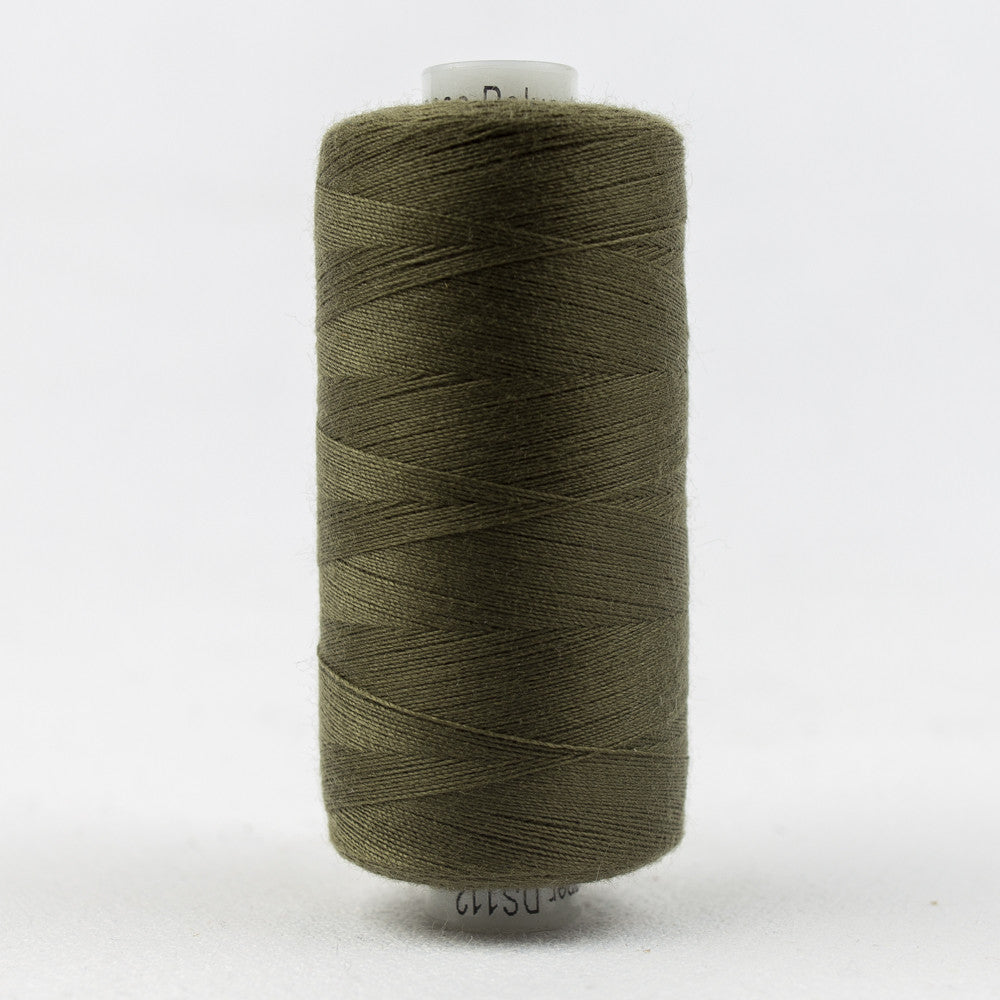 DS112 - Designer 40wt All purpose  Polyester Verdun Green Thread - wonderfil-online-uk