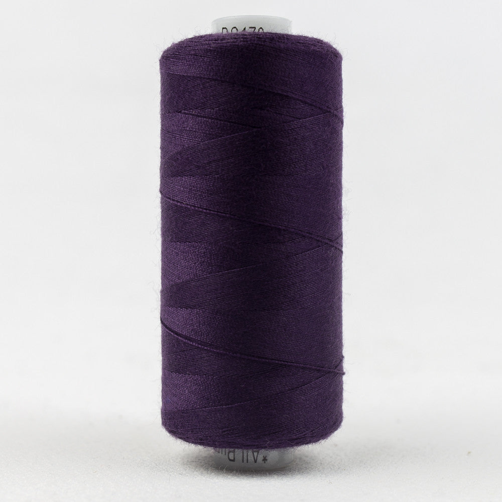 DS170 - 40wt Designer All purpose Polyester Inkberry Thread - wonderfil-online-uk