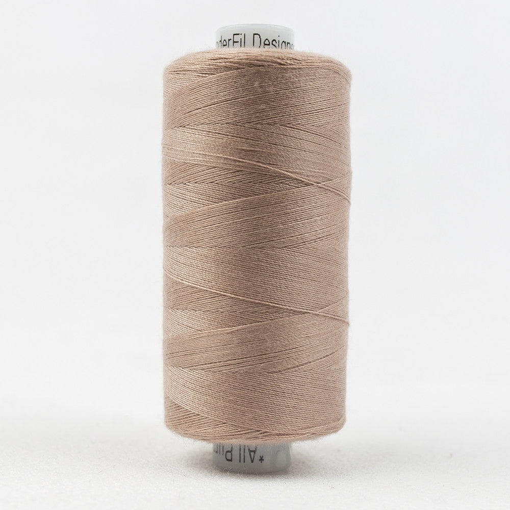 DS189 - 40wt Designer All purpose Polyester Old Rose Thread - wonderfil-online-uk