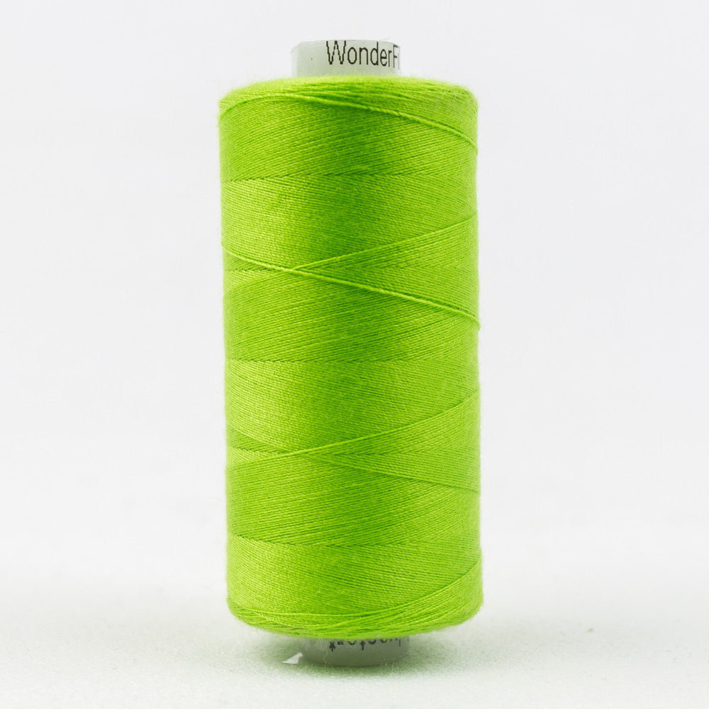 DS195 - 40wt Designer All purpose Polyester Chartreuse Thread - wonderfil-online-uk
