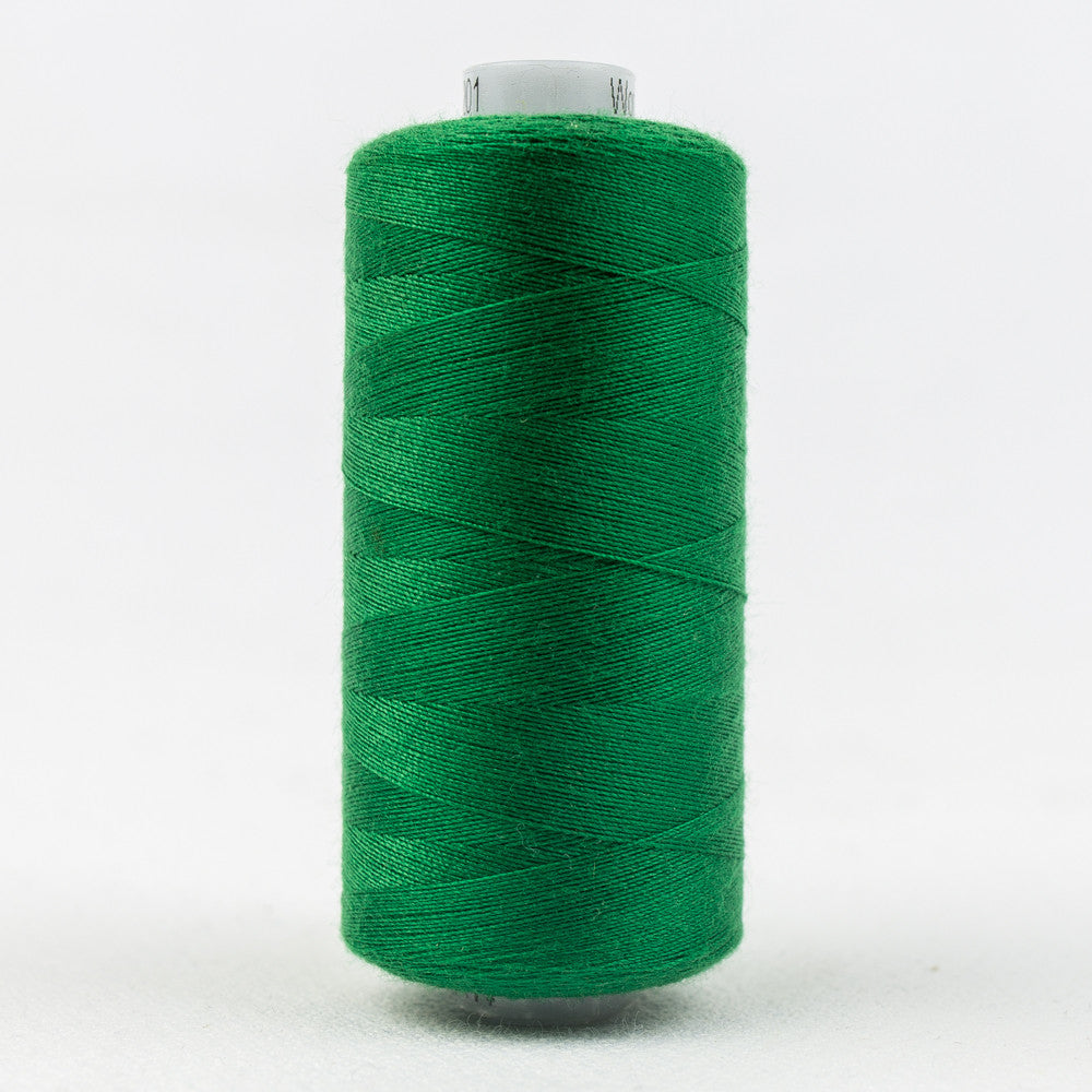 DS201 - 40wt Designer All purpose Polyester Green Thread - wonderfil-online-uk