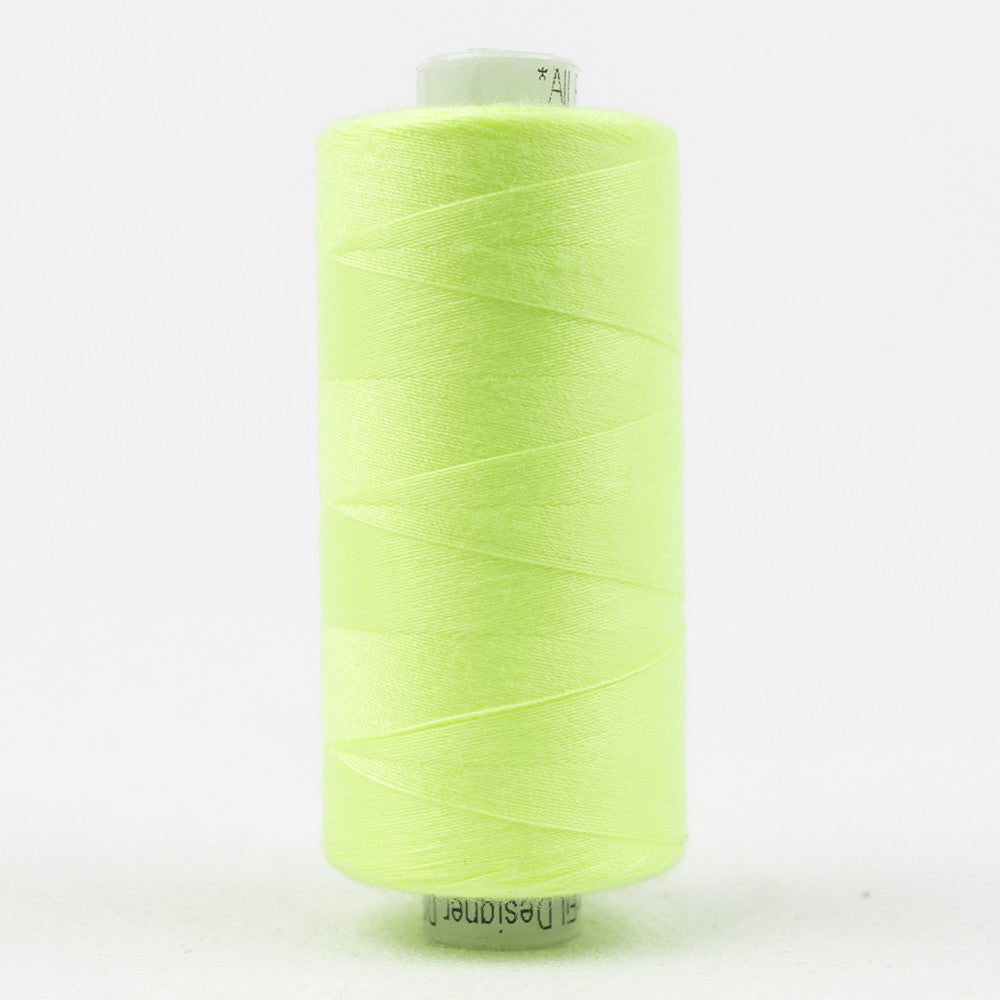 DS428 - Designer 40wt All purpose Polyester Fluorescent Green - wonderfil-online-uk
