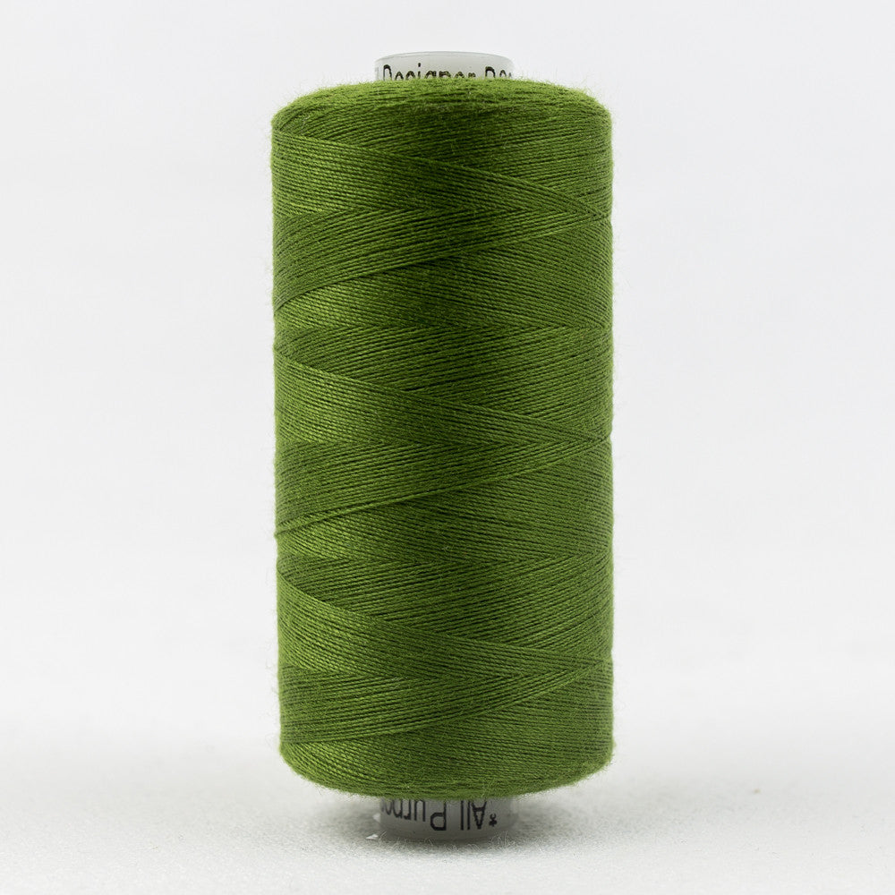 DS846 - Designer 40wt All purpose Polyester Limeade Thread - wonderfil-online-uk