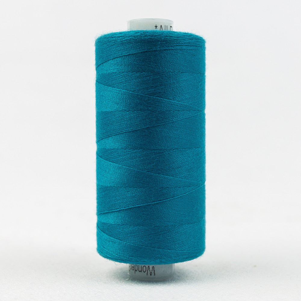 DS867 - Designer 40wt All purpose Polyester Cerulean Thread - wonderfil-online-uk
