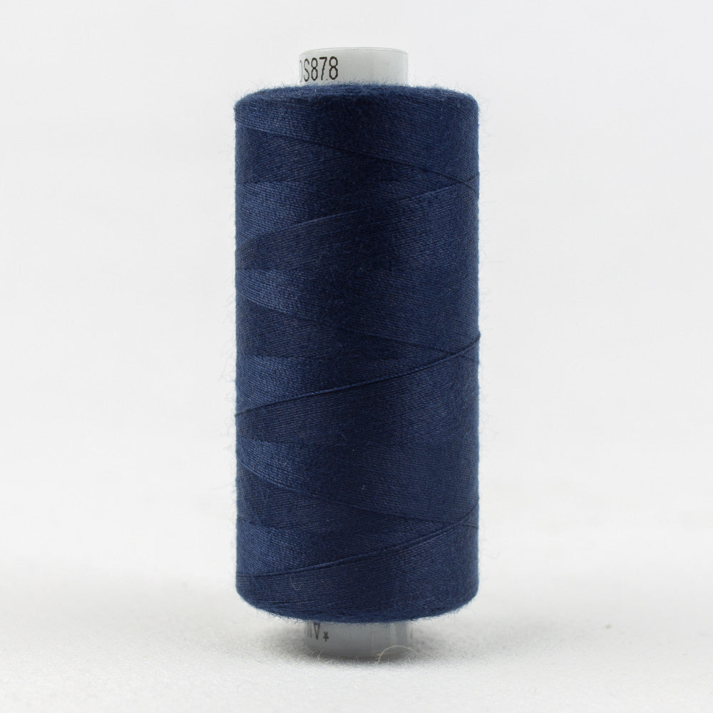 DS878 - Designer 40wt All purpose Polyester Regal Blue Thread - wonderfil-online-uk