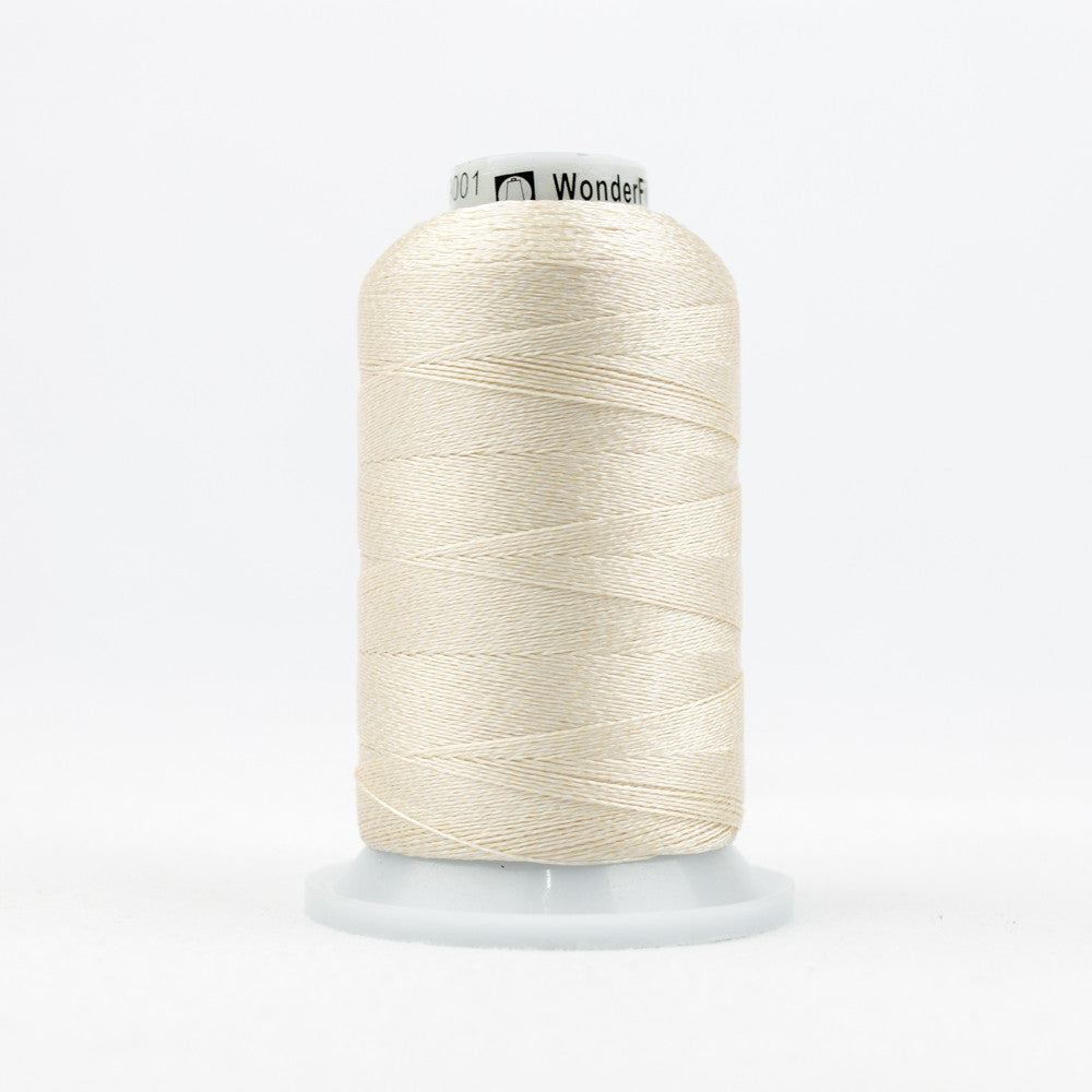 DT9001 - 20wt Rayon Beige Thread - wonderfil-online-uk