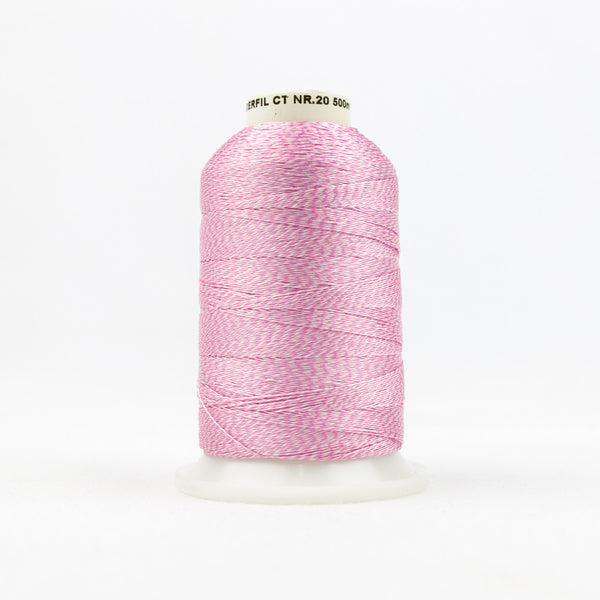 DT9002 -  20wt Rayon Pink Thread - wonderfil-online-uk