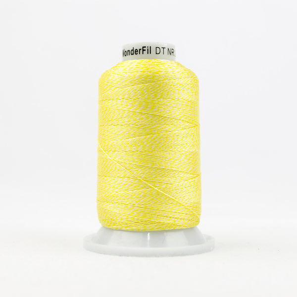 DT9003 -  20wt Rayon Yellow Thread - wonderfil-online-uk