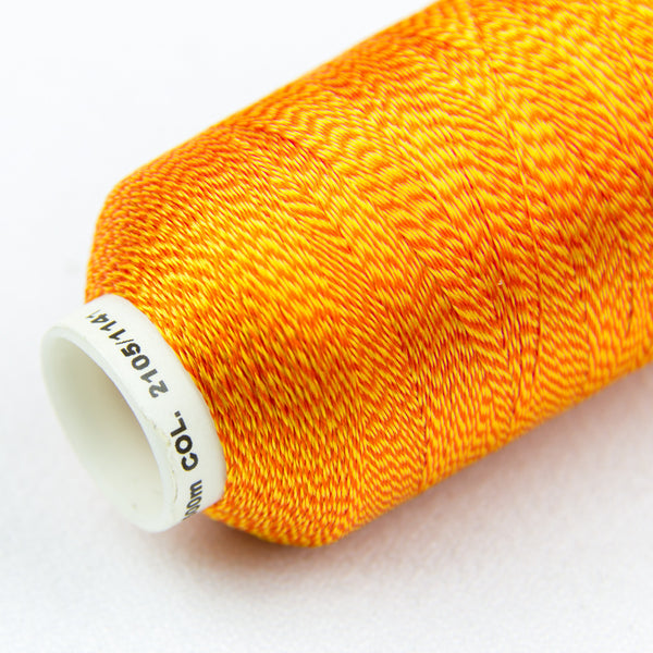 DT9004 -  20wt Rayon Orange Thread - wonderfil-online-uk