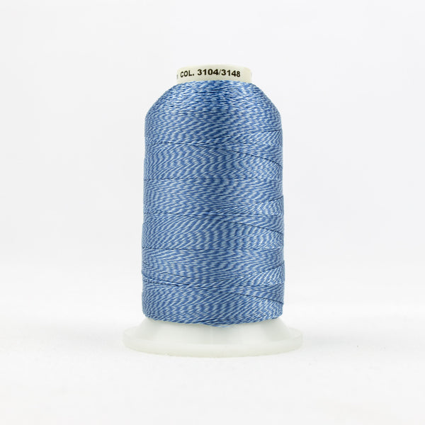 DT9006 -  20wt Rayon Blue Thread - wonderfil-online-uk