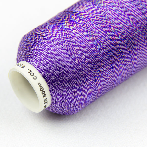 DT9007 -  20wt Rayon Purple Thread - wonderfil-online-uk