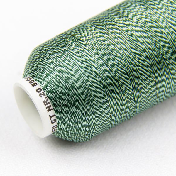 DT9008 -  20wt Rayon Green Thread - wonderfil-online-uk