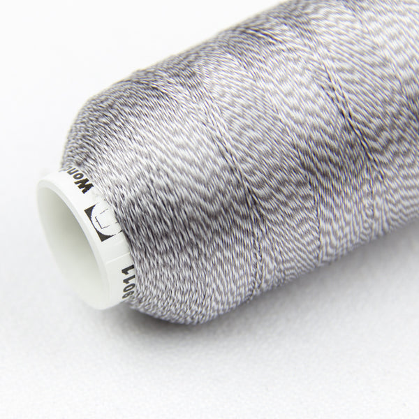 DT9011 -  20wt Rayon Grey Thread - wonderfil-online-uk