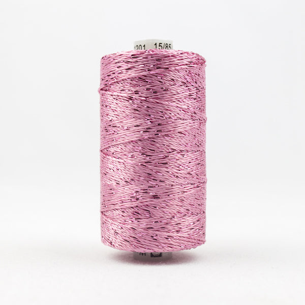 DZ1201 - 8wt Rayon and Metallic Baby Pink Thread - wonderfil-online-uk