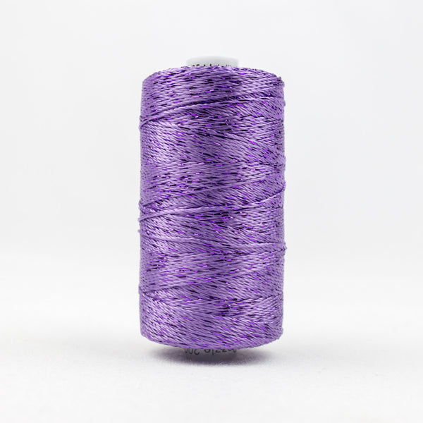DZ120 - 8wt Rayon and Metallic Lavender Thread - wonderfil-online-uk