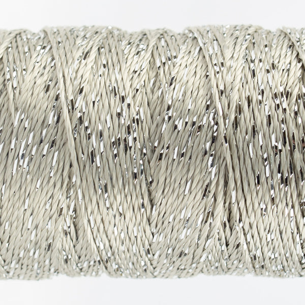 DZ2000 - 8wt Rayon and Metallic Silver Thread - wonderfil-online-uk