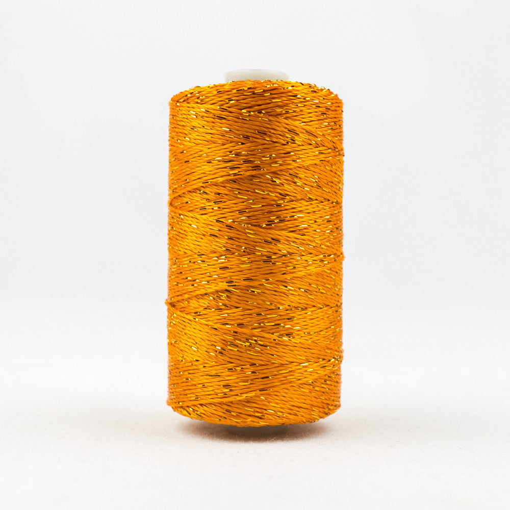 DZ2018 - 8wt Rayon and Metallic Pumpkin Thread - wonderfil-online-uk