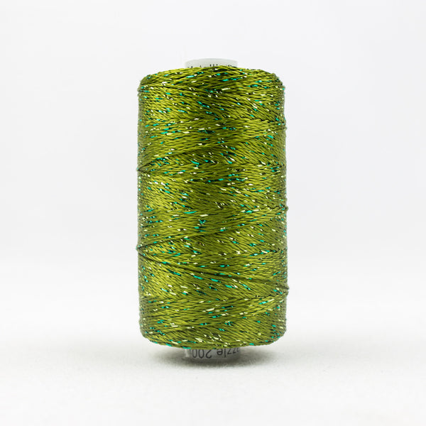 DZ2235 - 8wt Rayon and Metallic Avocado Thread - wonderfil-online-uk