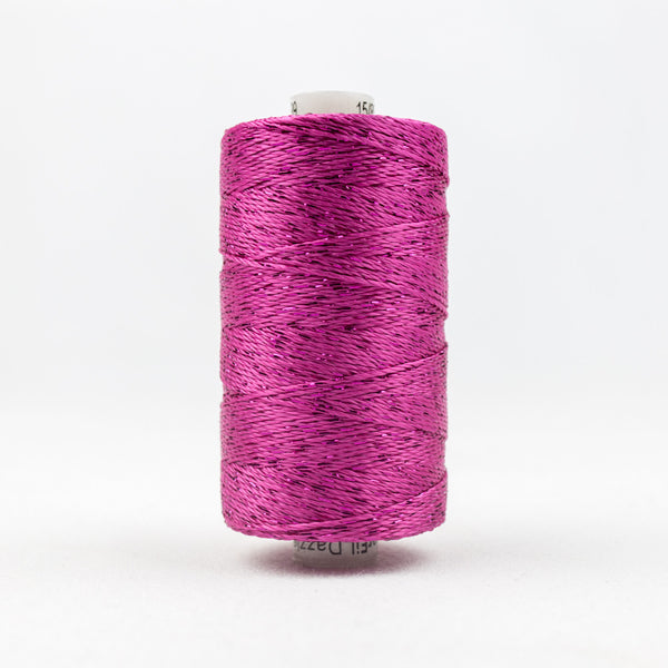 DZ39 - 8wt Rayon and Metallic Fuschia Thread - wonderfil-online-uk