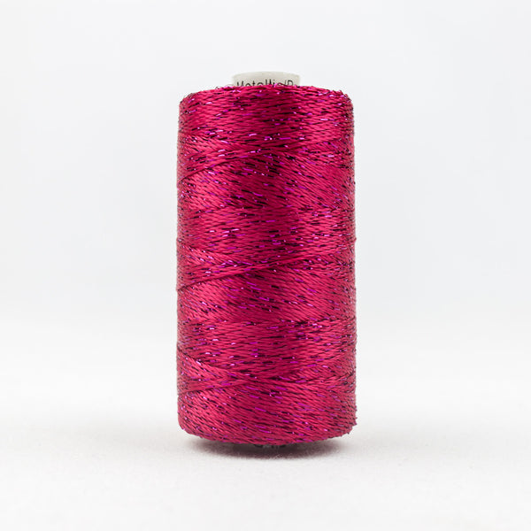 DZ45 - 8wt Rayon and Metallic Boysenberry Thread - wonderfil-online-uk