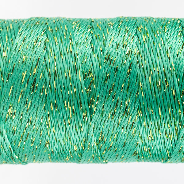 DZ68 - 8wt Rayon and Metallic Sea Foam Green Thread - wonderfil-online-uk
