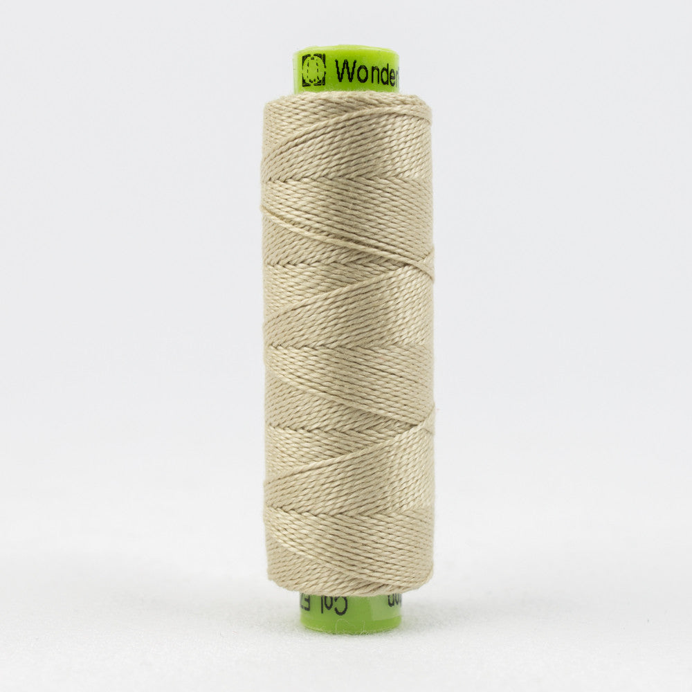 SSEZ801 - Eleganza 8wt Egyptian Cotton Sea Shell Thread - wonderfil-online-uk