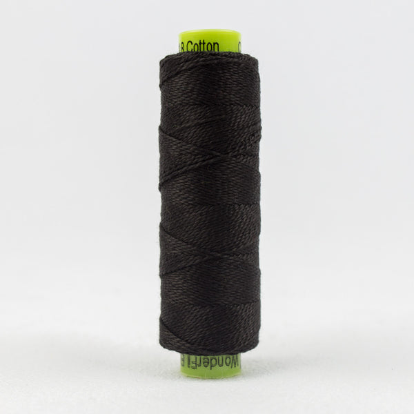 SSEZ805 - Eleganza 8wt Egyptian Cotton Black Tie Thread - wonderfil-online-uk