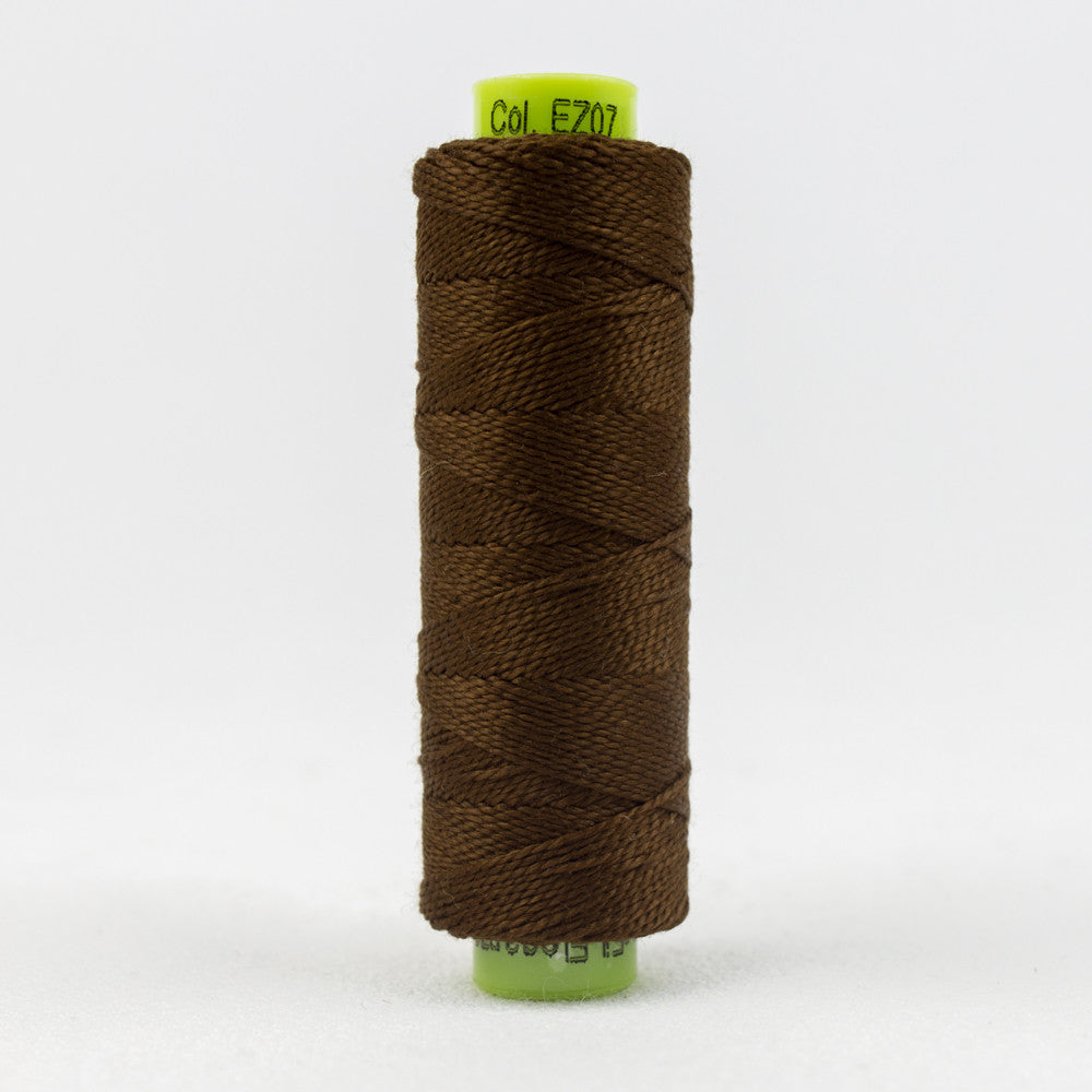 SSEZ807 - Eleganza 8wt Egyptian Cotton Moccasin Thread - wonderfil-online-uk