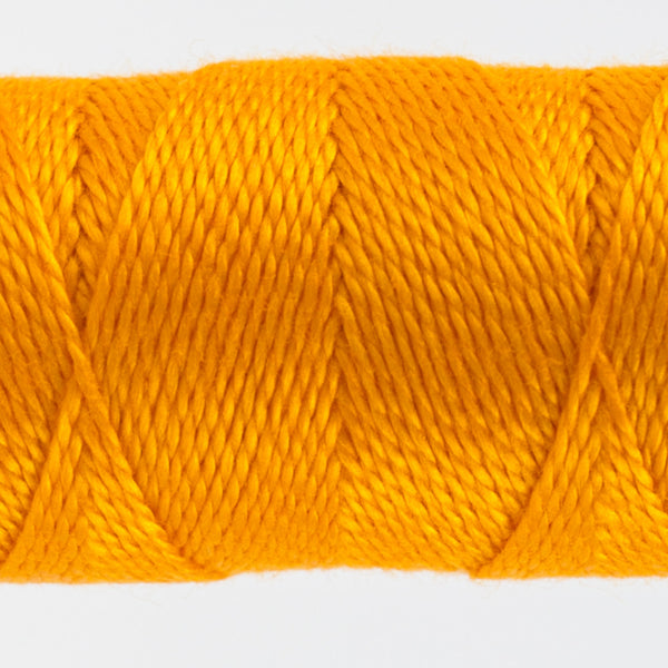 SSEZ815 - Eleganza 8wt Egyptian Cotton Orange Crush Thread - wonderfil-online-uk
