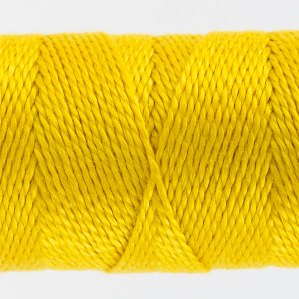 SSEZ818 - Eleganza 8wt Egyptian Cotton Lemon Curd Thread - wonderfil-online-uk