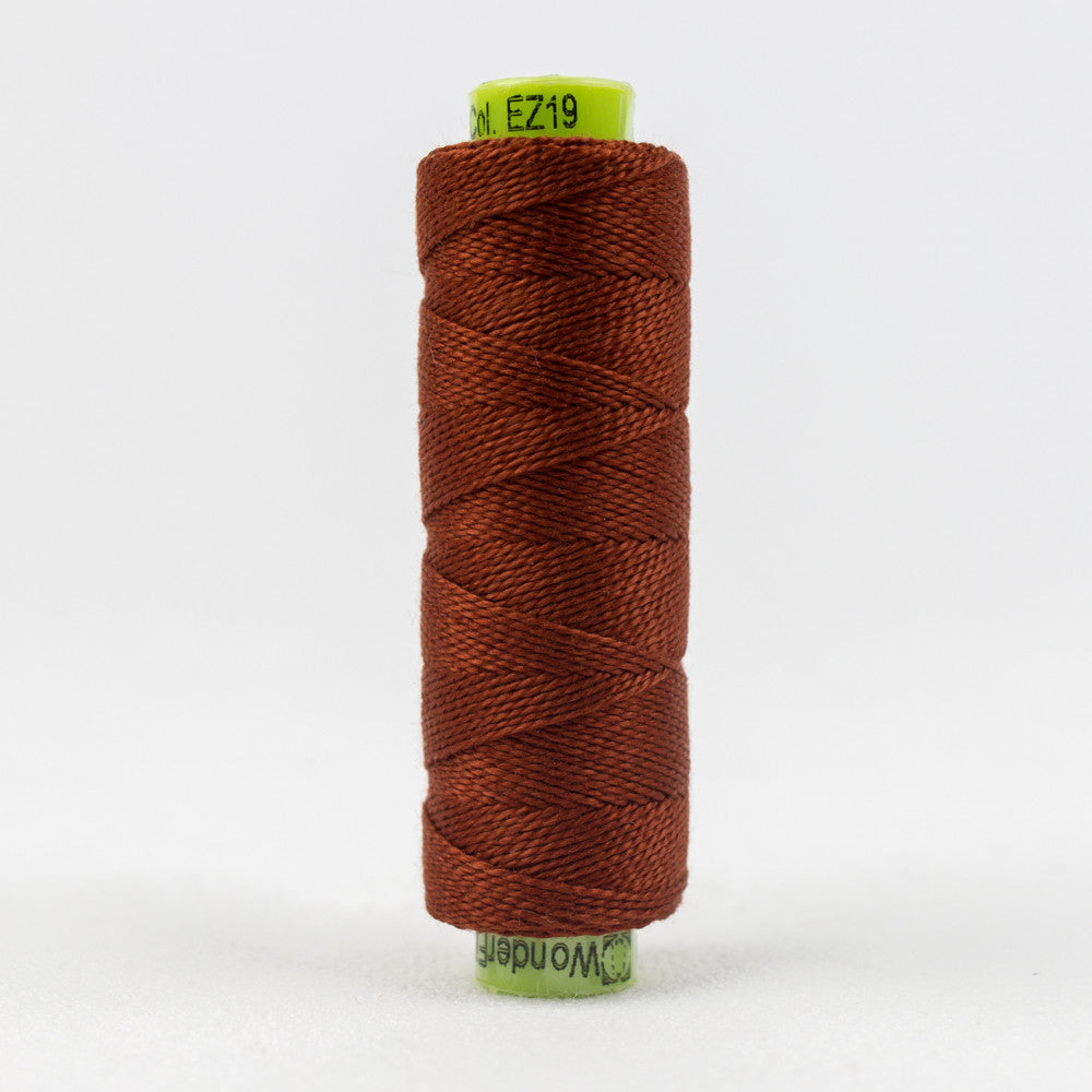 SSEZ819 - Eleganza 8wt Egyptian Cotton Raked Leaves Thread - wonderfil-online-uk