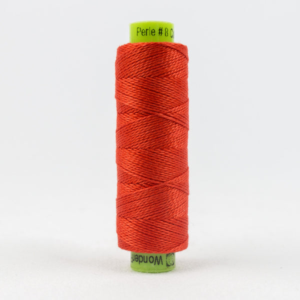 SSEZ823 - Eleganza 8wt Egyptian Cotton Campfire Thread - wonderfil-online-uk