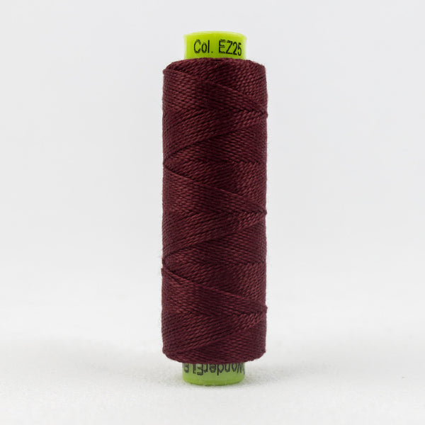 SSEZ825 - Eleganza 8wt Egyptian Cotton Signature Wine Thread - wonderfil-online-uk
