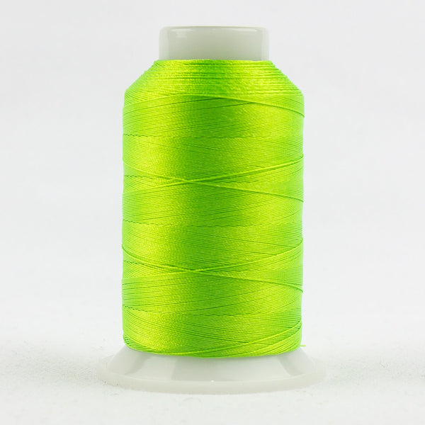 FB02 - Fabulux 40wt Trilobal Polyester Neon Lime Thread - wonderfil-online-uk
