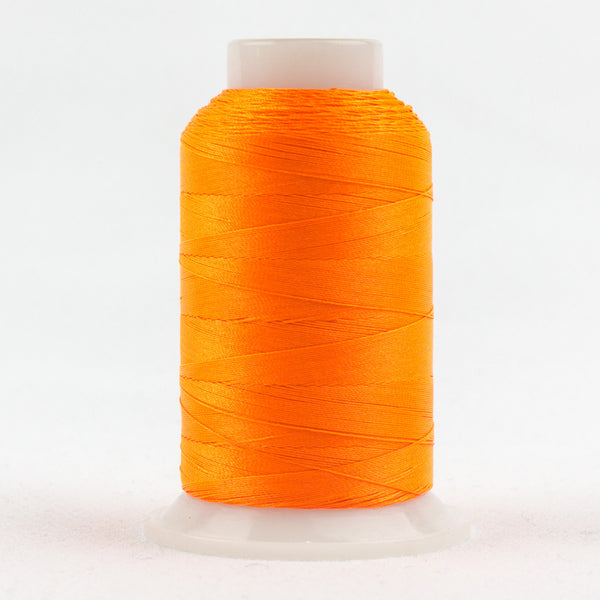 FB04 - Fabulux 40wt Trilobal Polyester Neon Orange Thread - wonderfil-online-uk